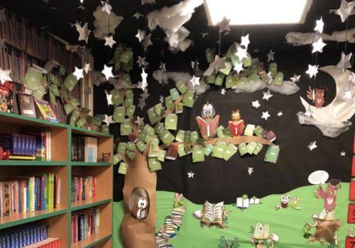 Y6 reading area