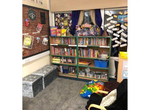 Y4 reading area