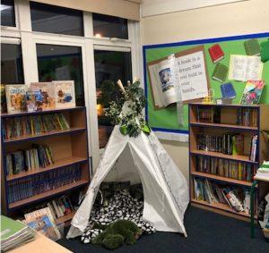Y5 Reading Area